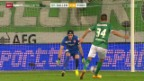 Video «Fussball: Super League, St. Gallen - Thun» abspielen