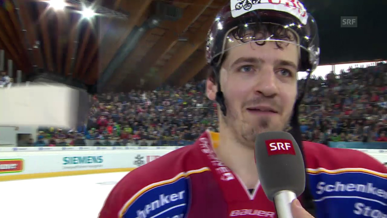 Eishockey: Spengler Cup, Interview mit Arnaud Jacquemet