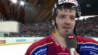 Video «Eishockey: Spengler Cup, Interview mit Arnaud Jacquemet» abspielen