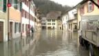Video «Saint-Ursanne unter Wasser» abspielen