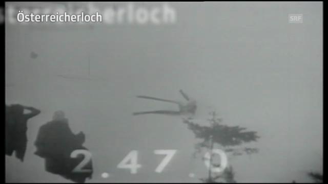 Lauberhorn-Schlüsselstellen: Das «Österreicherloch»