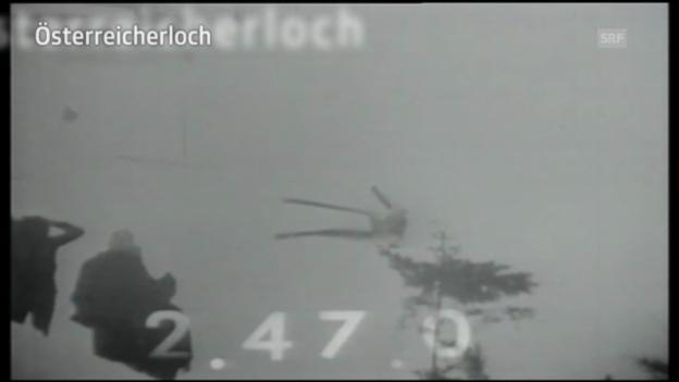 Video «Lauberhorn-Schlüsselstellen: Das «Österreicherloch»» abspielen