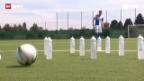 Video «Fussball: Dreikampf zwischen Basel und GC» abspielen