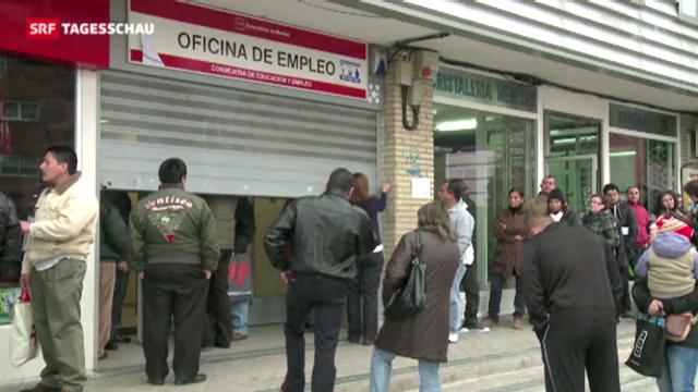 Arbeitslosigkeit in Euro-Zone auf Höchststand