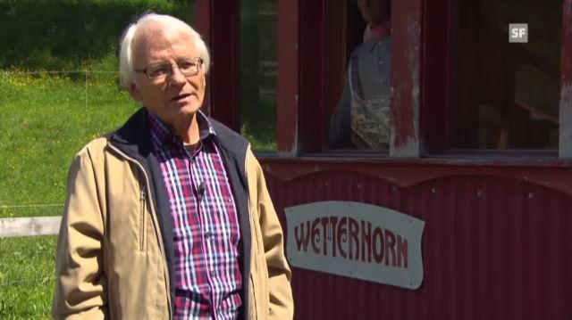 Willi Feldmann über die Sicherheit der Wetterhornbahn
