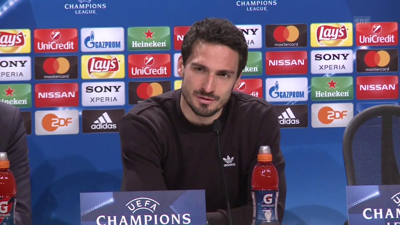 Hummels: «Sie sind eine europäische Top-Mannschaft»