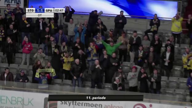 Video «So jubelten Fans und Spieler um halb drei Uhr morgens» abspielen