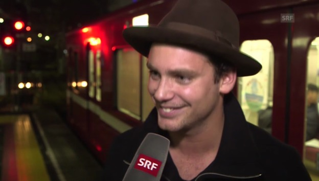 Video «Bastian Baker in Japan» abspielen