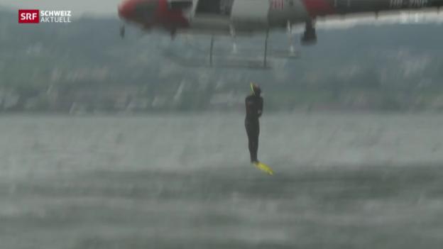 Video «Zürcher Seepolizei wird 50 Jahre alt» abspielen