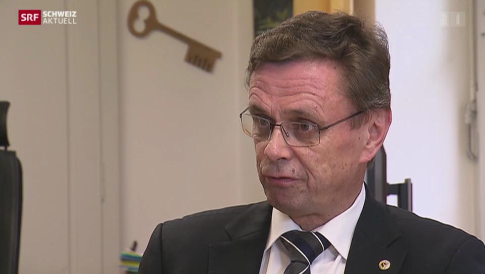 Regierungsrat Hans-Jürg Käser weist Vorwürfe zurück