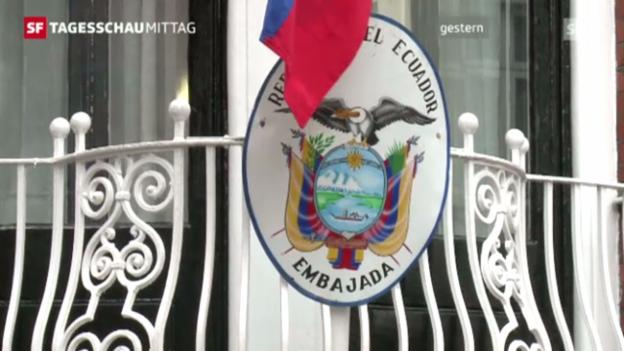 Video «Grossbritannien droht Assange zu verhaften» abspielen