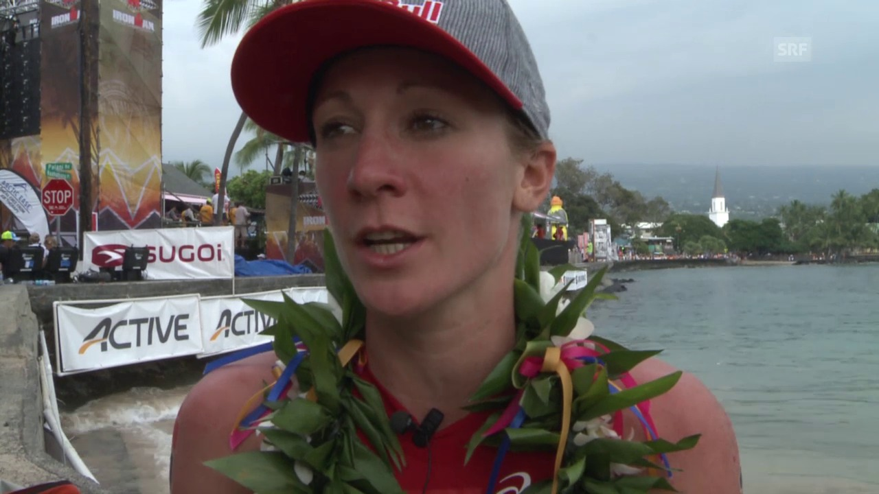 Triathlon: Ironman Hawaii, Interview mit Siegerin Daniela Ryf