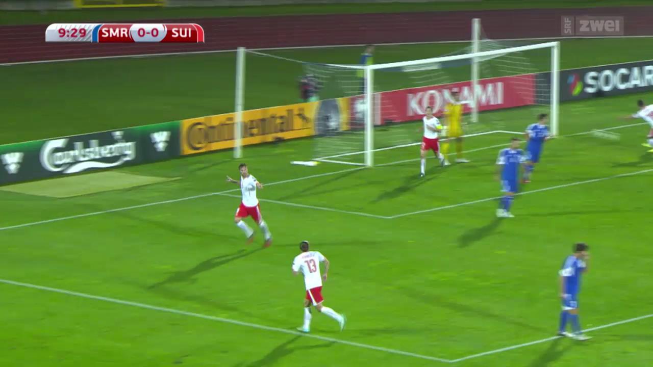 Fussball: EM-Quali, San Marino - Schweiz