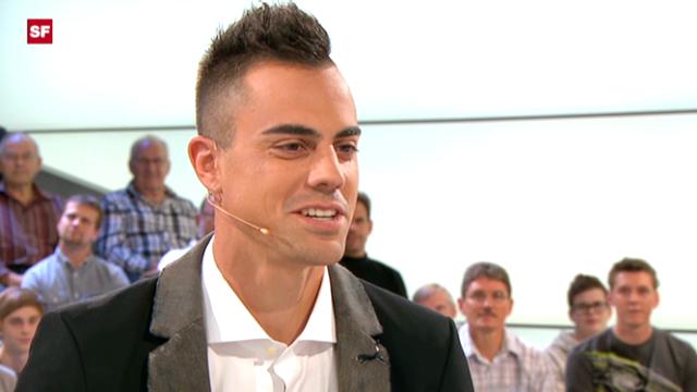 Diego Benaglio im «sportpanorama» (07.10.2012)