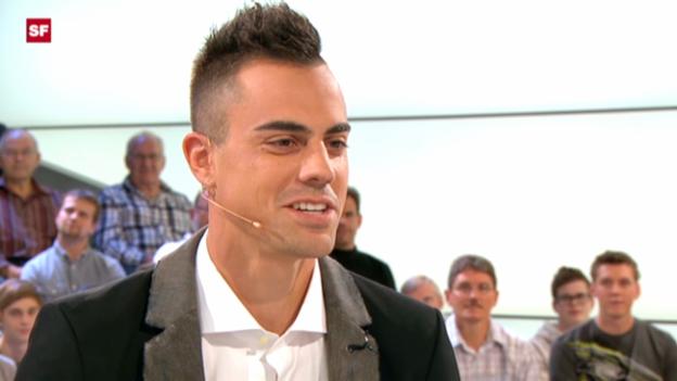 Video «Diego Benaglio im «sportpanorama» (07.10.2012)» abspielen