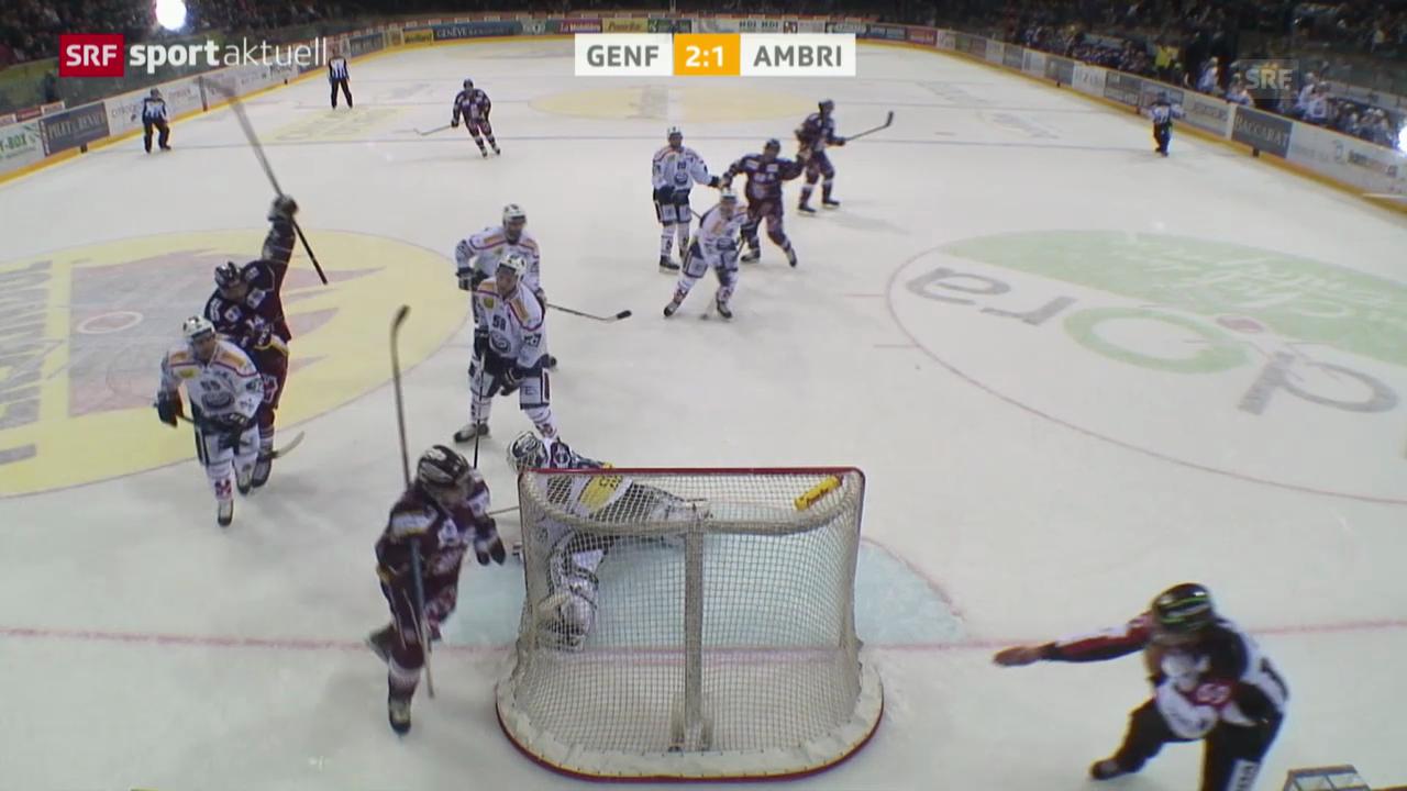 Eishockey: NLA, Genf - Ambri
