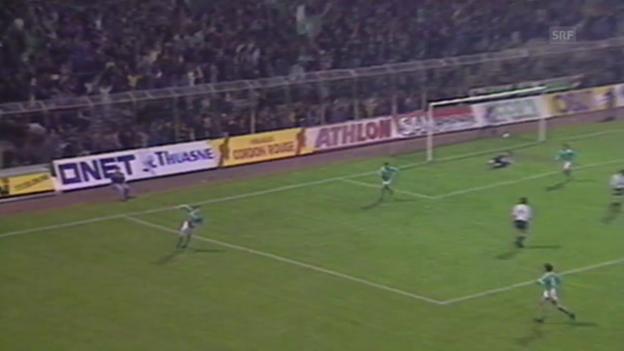 Video «Geiger trifft gegen Lille (SRF-Archiv)» abspielen