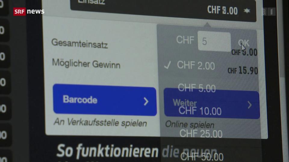 Aus dem Archiv: Mehr Sportwetten bei Swisslos