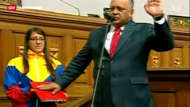 Video «Wiederwahl von Cabello» abspielen