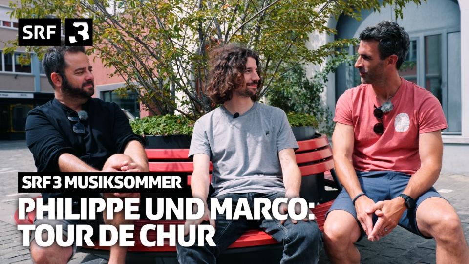 Philippe und Marco erkunden Chur