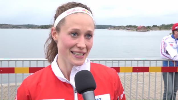 Video «OL-WM: Silber für Judith Wyder» abspielen