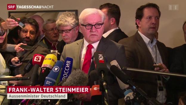 Video «Die Syrien-Beratungen in München» abspielen
