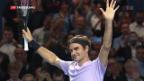 Video «Federer gewinnt Heimturnier» abspielen