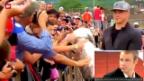 Video «Dustin Brown unterwegs mit dem Stanley Cup» abspielen