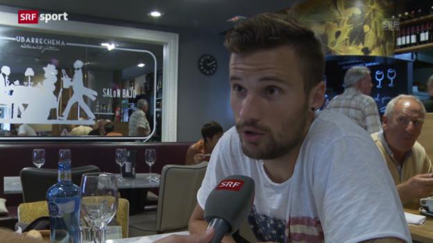 Video «Haris Seferovic im Porträt («sportlounge»)» abspielen