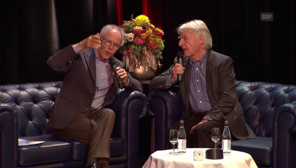 Moritz Leuenberger: Premiere als Moderator