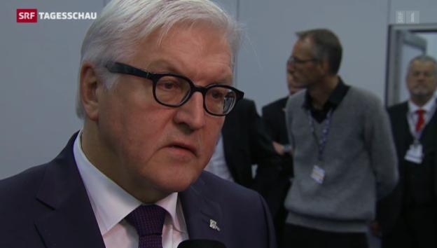 Video «Viel Lob für den Schweizer OSZE-Vorsitz» abspielen