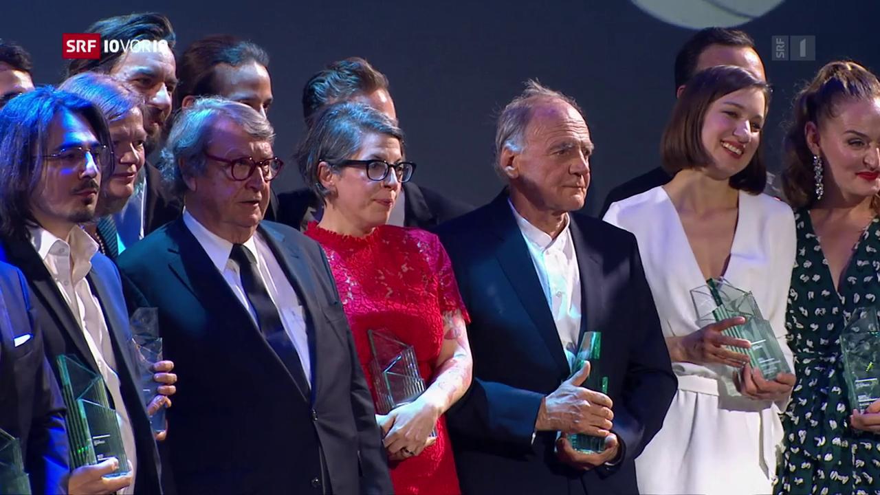 Und der Gewinner des Schweizer Filmpreises ist…