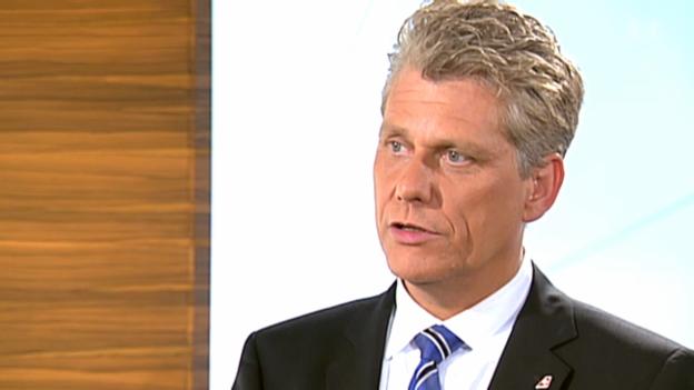 Video «Harry Hohmeister verneint Ambitionen auf den Lufthansa-Chefposten» abspielen