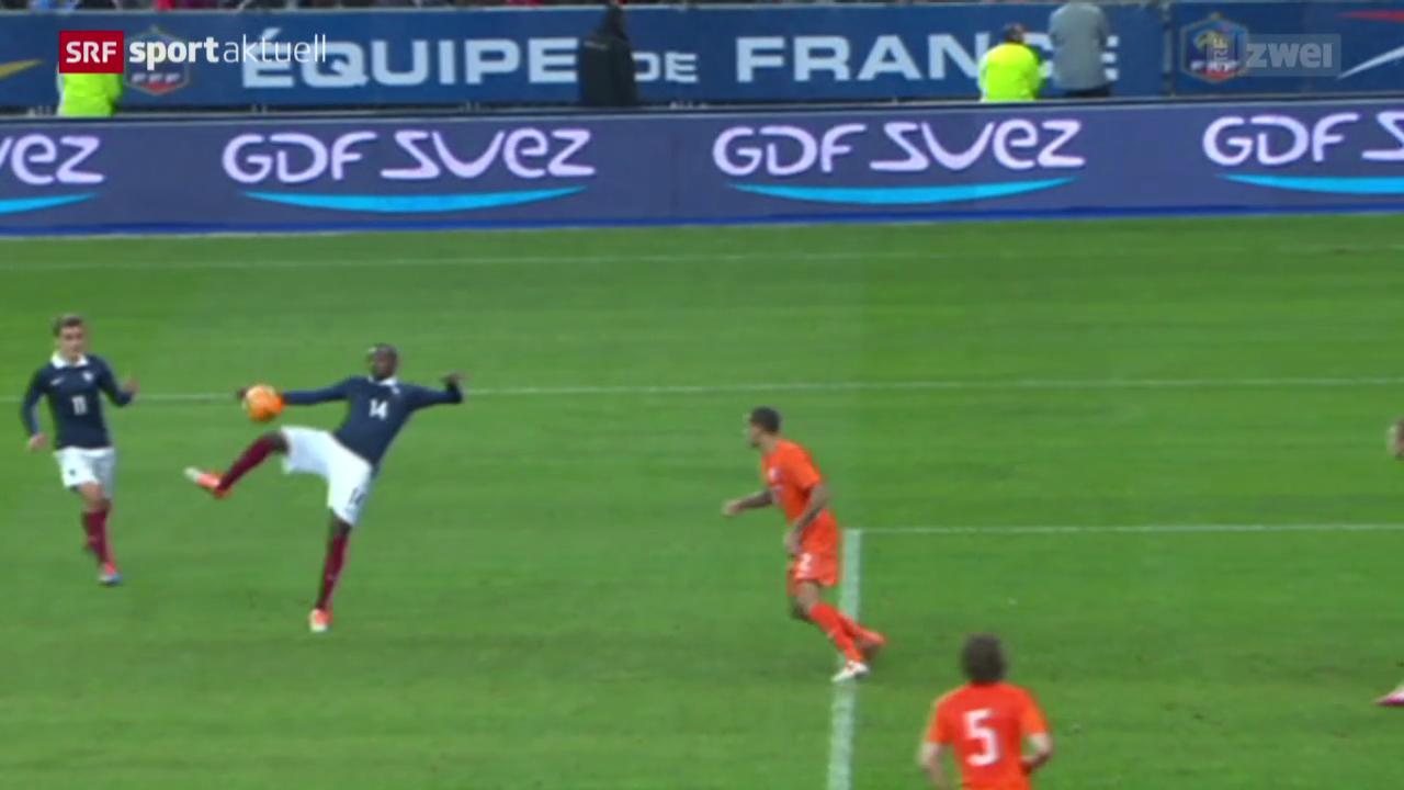 Fussball: Test Frankreich-Niederlande