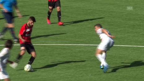 Video «Fussball: Schweizer Cup 2. Runde, NE Xamax-Luzern, 2:3 NE Xamax» abspielen