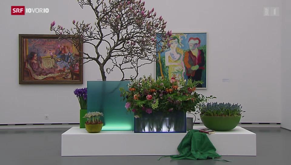 «Blumen für die Kunst» aus: 10vor10 vom 17.3.2014