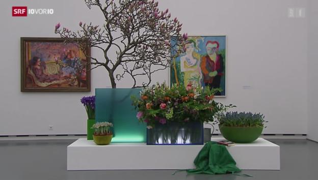 Video ««Blumen für die Kunst» aus: 10vor10 vom 17.3.2014» abspielen