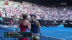 Video «Tennis: Kerber scheitert an Halep» abspielen