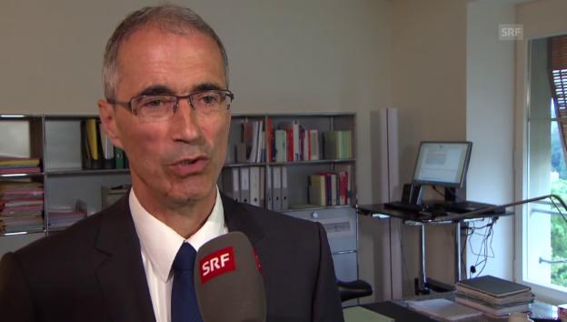 Video «Serge Gaillard: «Der Franken gilt als sicher»» abspielen