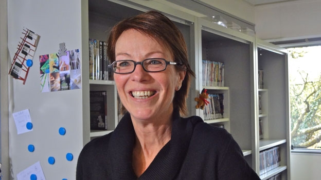 Monika Langmesser - «lesen regt die Phantasie an»