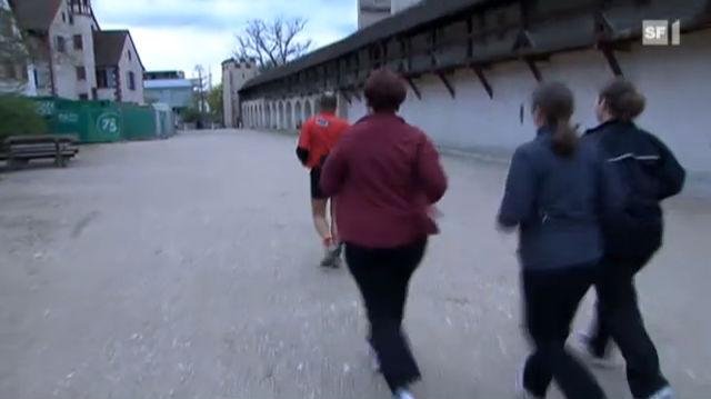 Mit Jogging gegen Bauchfett