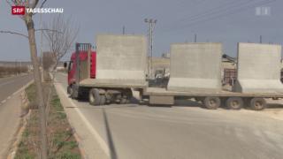 Video «Mauer gegen Flüchtlinge» abspielen