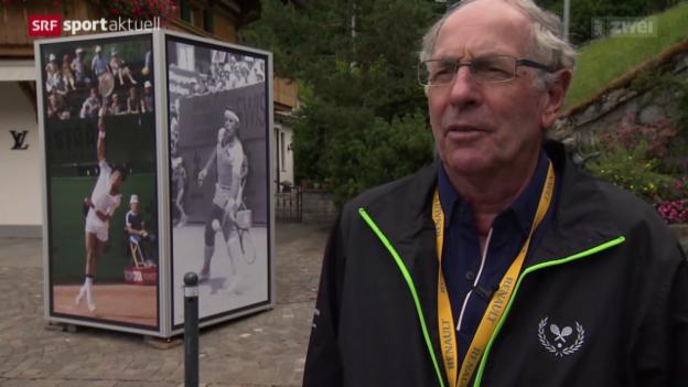 Video «Tennis: Hinter den Kulissen von Gstaad, Teil 4» abspielen