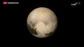 Video «Pluto in Nahaufnahme» abspielen