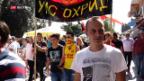 Video «Mazedonien unter Druck» abspielen