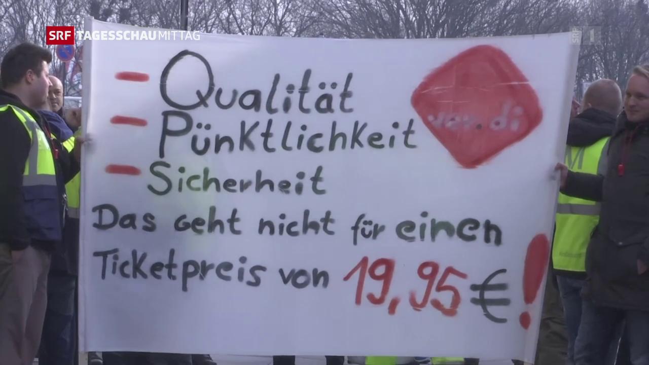 Streik am Berliner Flughafen