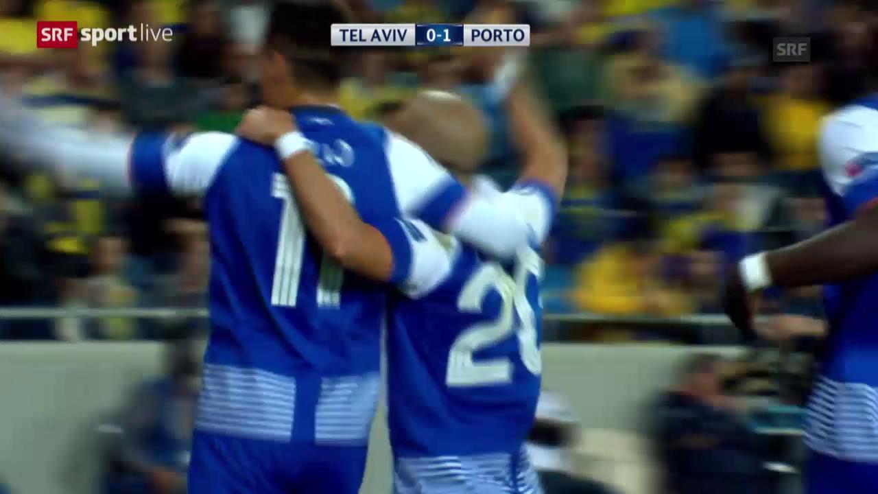 Fussball: Champions League, Zusammenfassung Maccabi - Porto