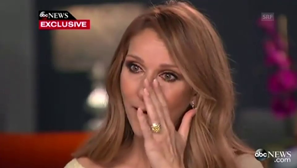 Céline Dion im Interview mit «ABC»
