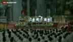 Video «Papst prangert Kriege in der Welt an» abspielen