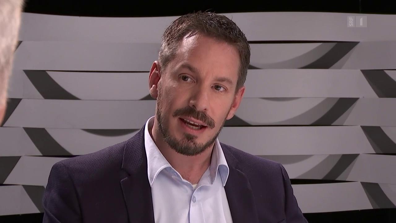 Florian Eltschinger über das Einmischen seines Vaters